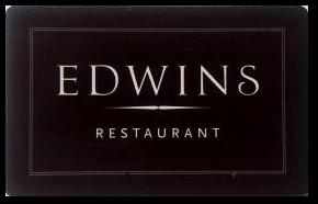 Edwins Restaurant Gift Card